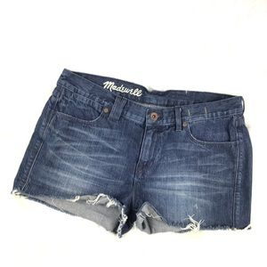Madewell Denim Dark Wash Jean Shorts
